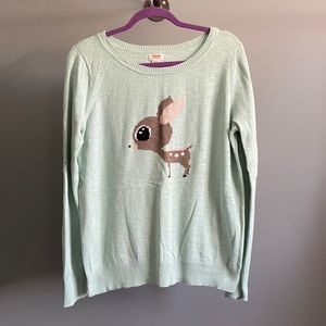 🦌 Mossimo Mint Deer Sweater 🦌